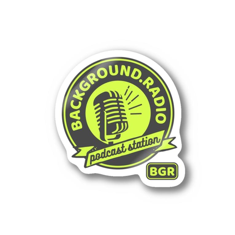 Background.radioのDonation sticker Stickers