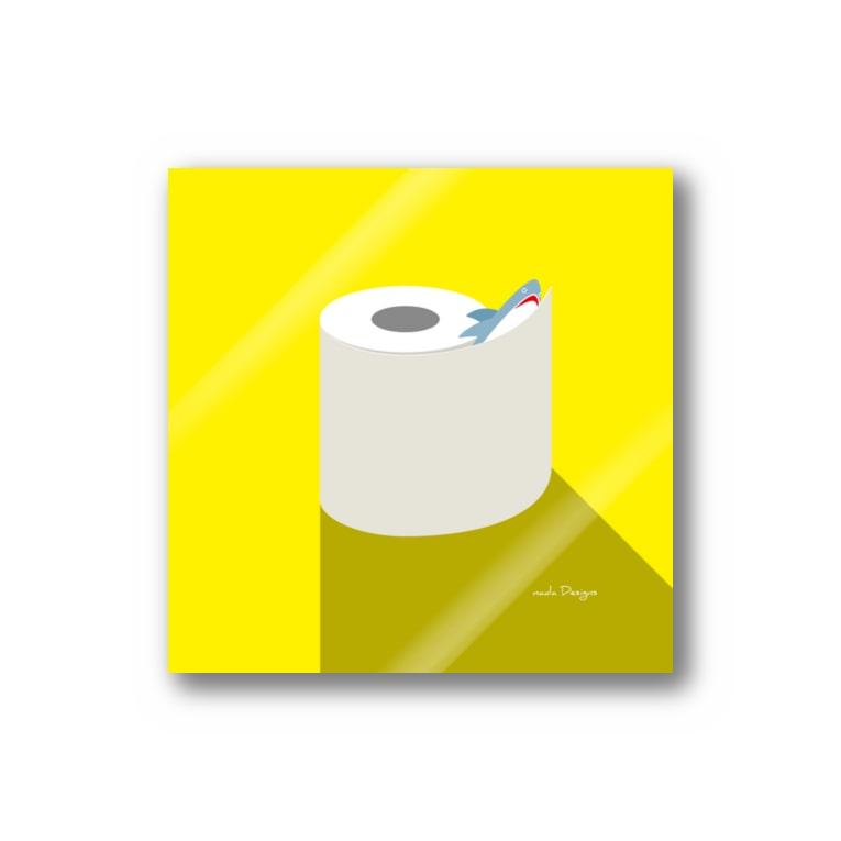 さかたようこ / サメ画家の昼のSAME Paper  Stickers