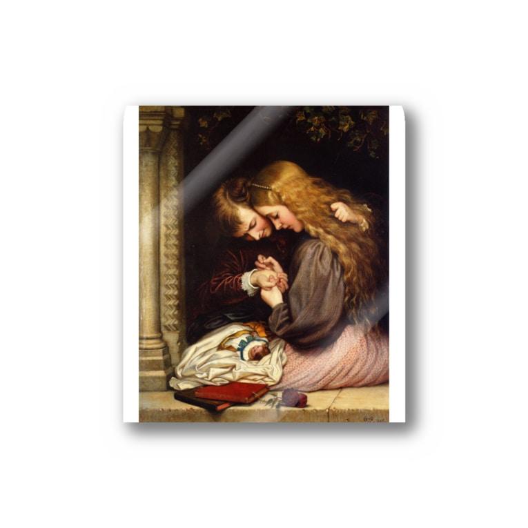 世界の絵画アートグッズのチャールズ・ウェスト・コープ 《とげ》 Sticker
