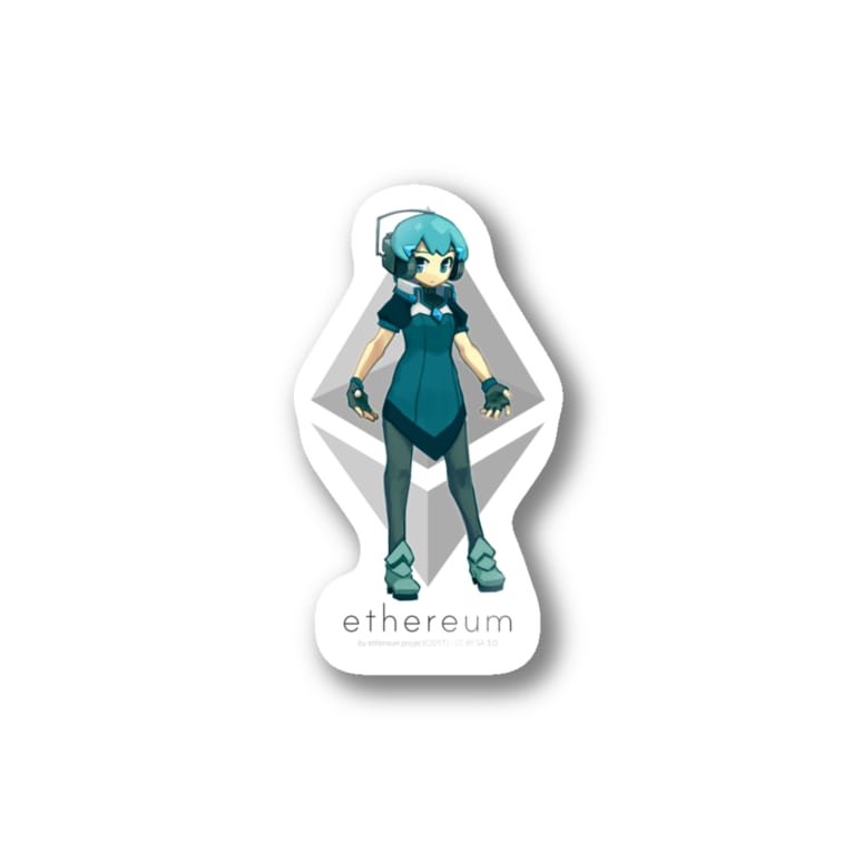 mizcoreのETH子ちゃん Stickers