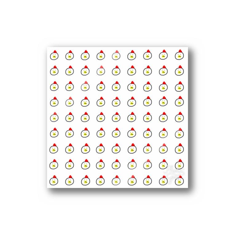 めかぶのチキン野郎 Stickers