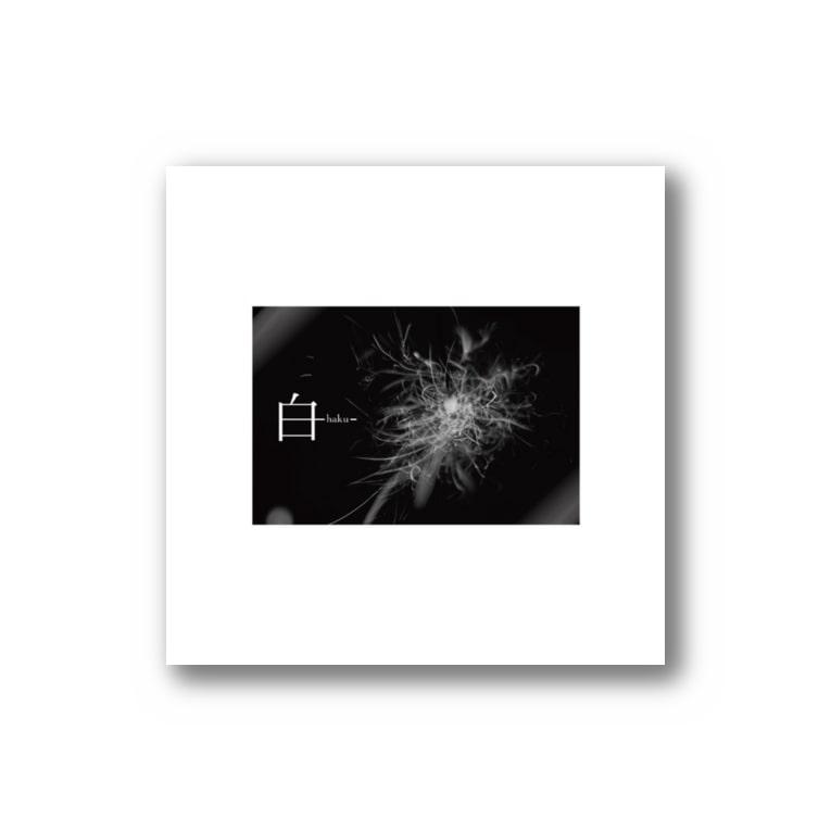 SHOP_of_TKの白 Sticker