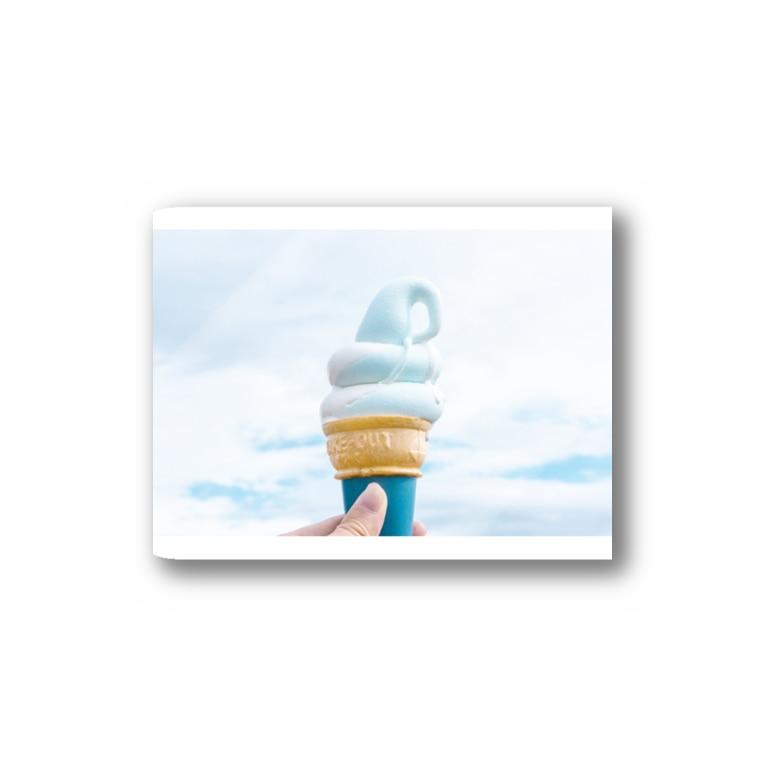 Hanako Mouriのソフトクリーム Sticker