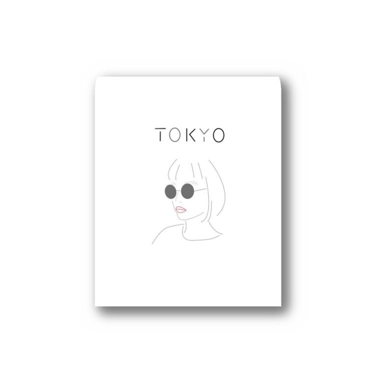 Hiroko💐のテクノなTOKYOガール Sticker