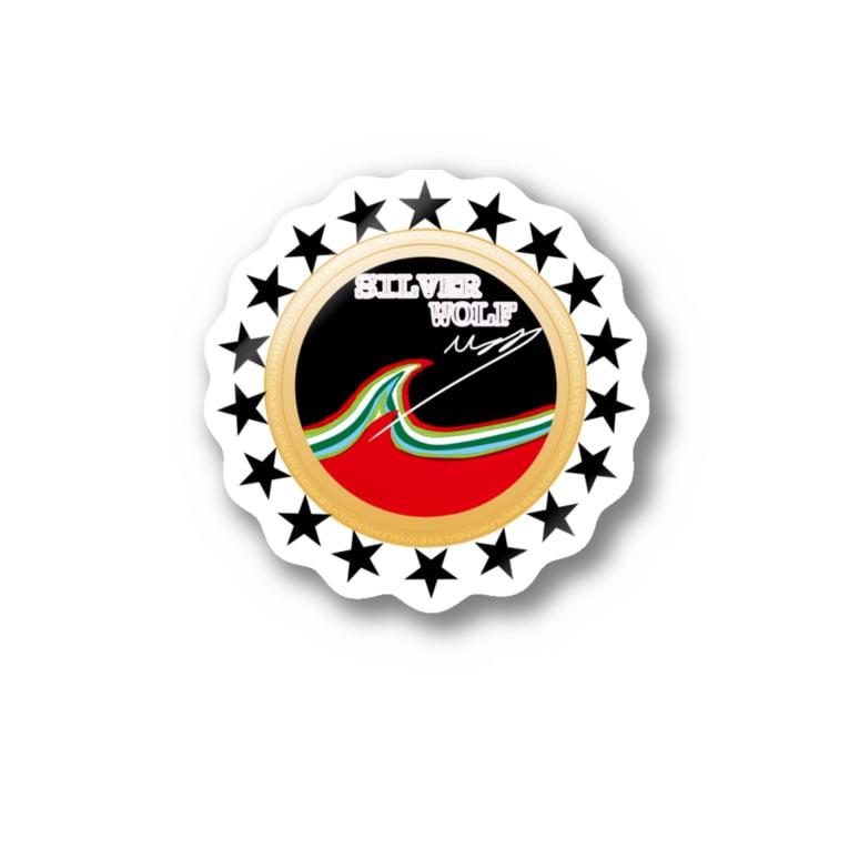 SILVERWOLFMENmixculturedesinの2018-19NEW「SURFTRIP」 Sticker