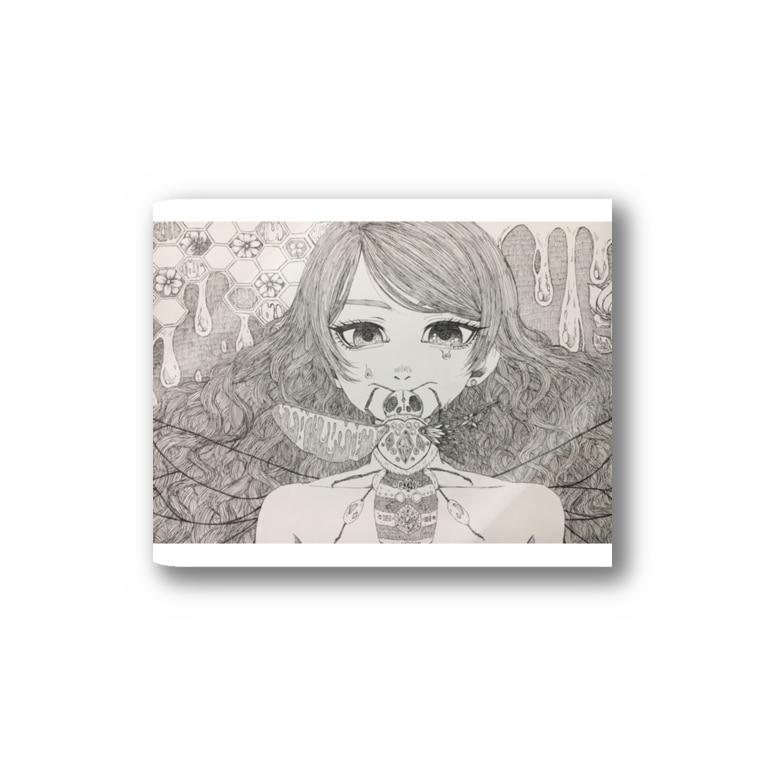 waltz_21の蜂の巣 Stickers
