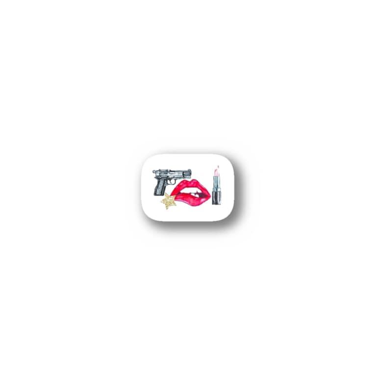 xoxo.....VODKAのSimple type Stickers