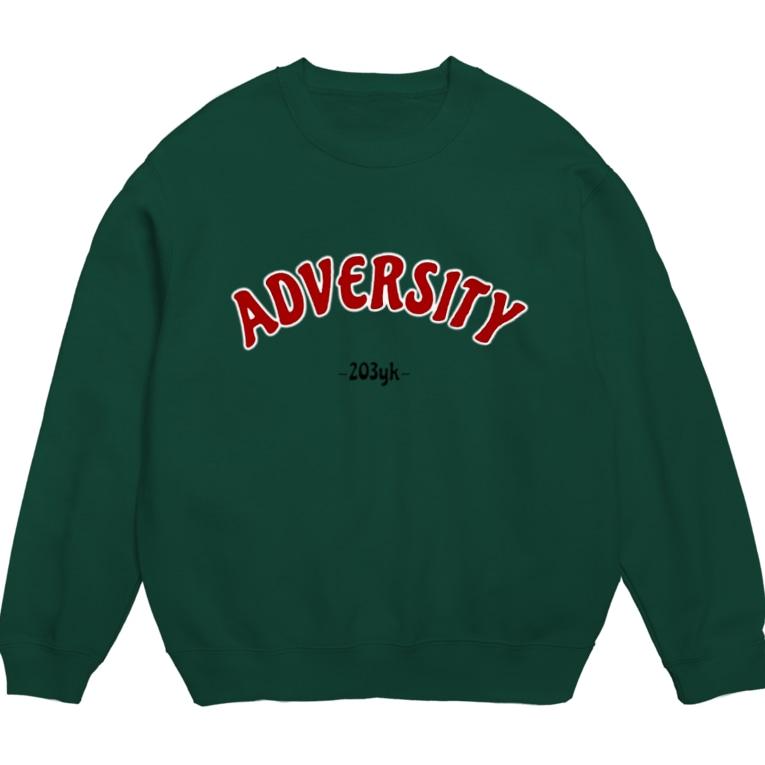 203ykのADVERSITY(green) Sweats