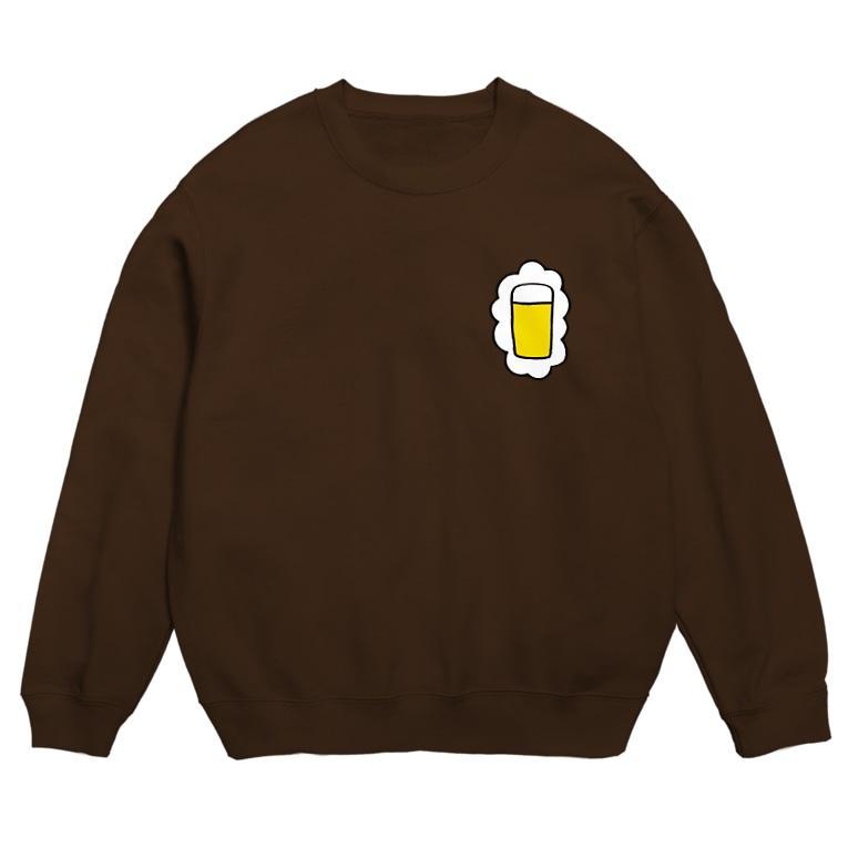 KAWAGOE GRAPHICSの頭の中はビールでいっぱい Sweats