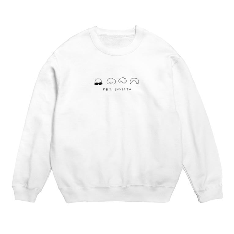 FEZ INVICTAのゆるロゴ スウェット 黒ロゴ Sweats