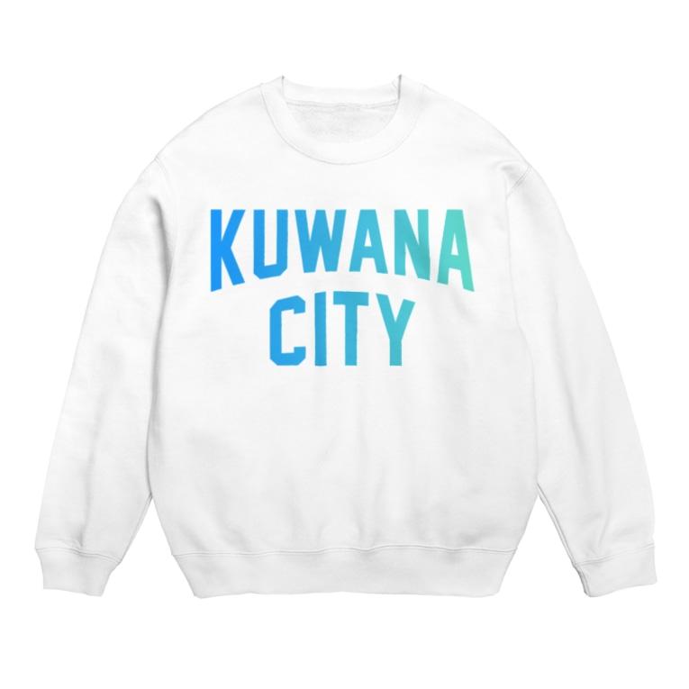 JIMOTO Wear Local Japanの桑名市 KUWANA CITY Sweats