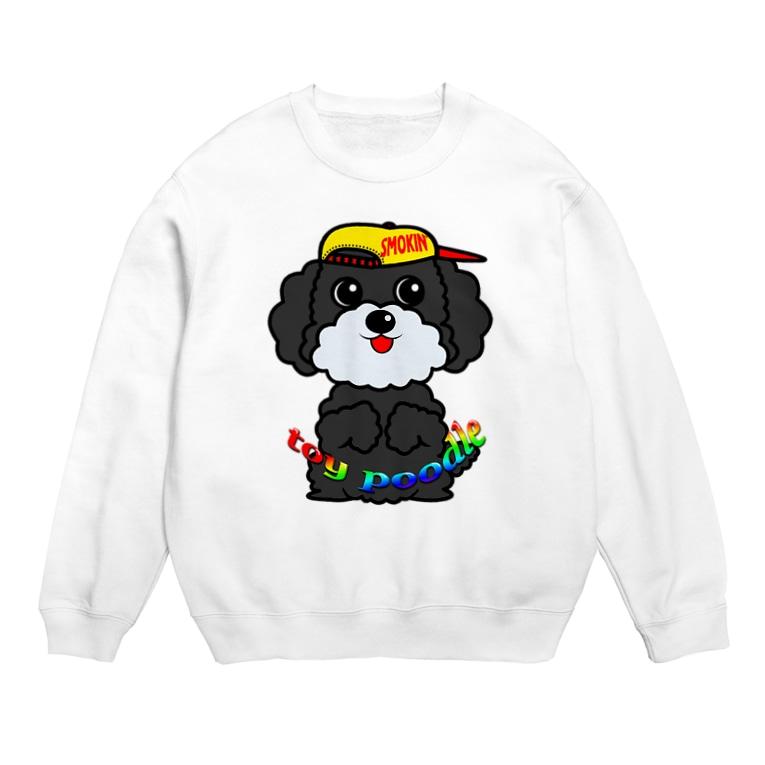 オリジナルデザインTシャツ SMOKIN'のちんちんトイプードル Sweats