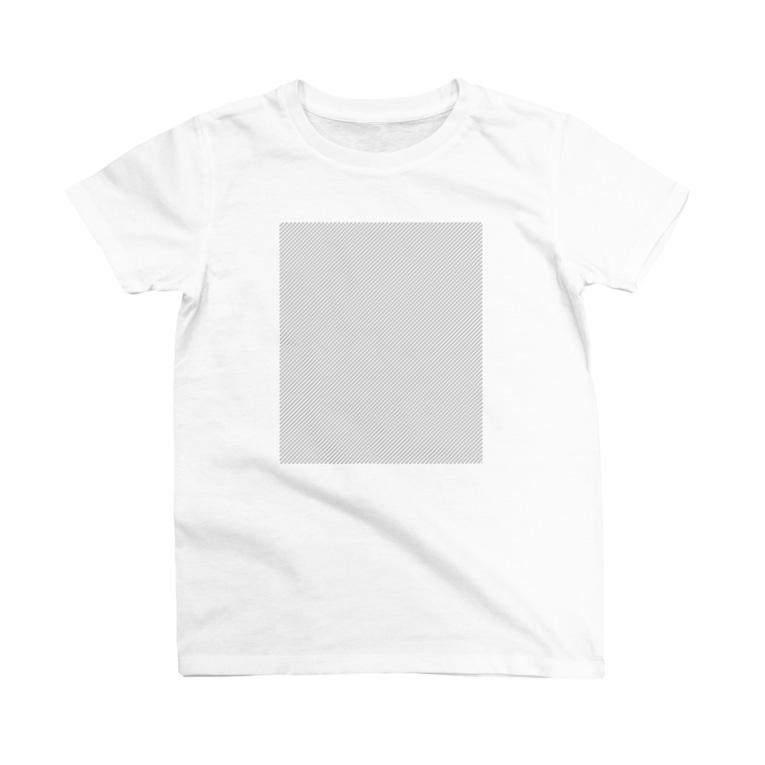 chi-bitのプリントエリアチェック T-shirts