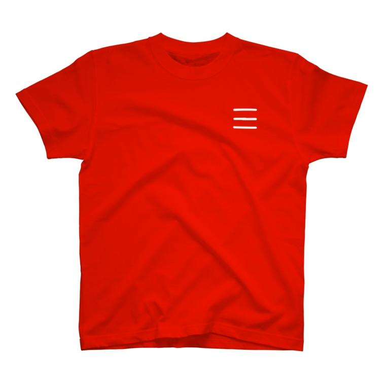 Comic Line - 7 (White) Tシャツ