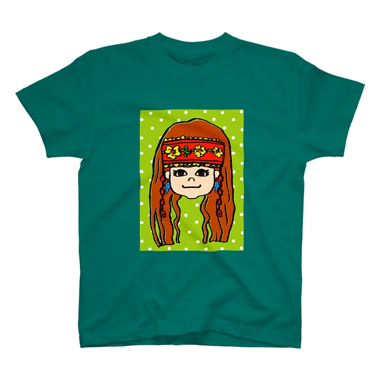 NahunggoのIndian Girl☆ T-shirts