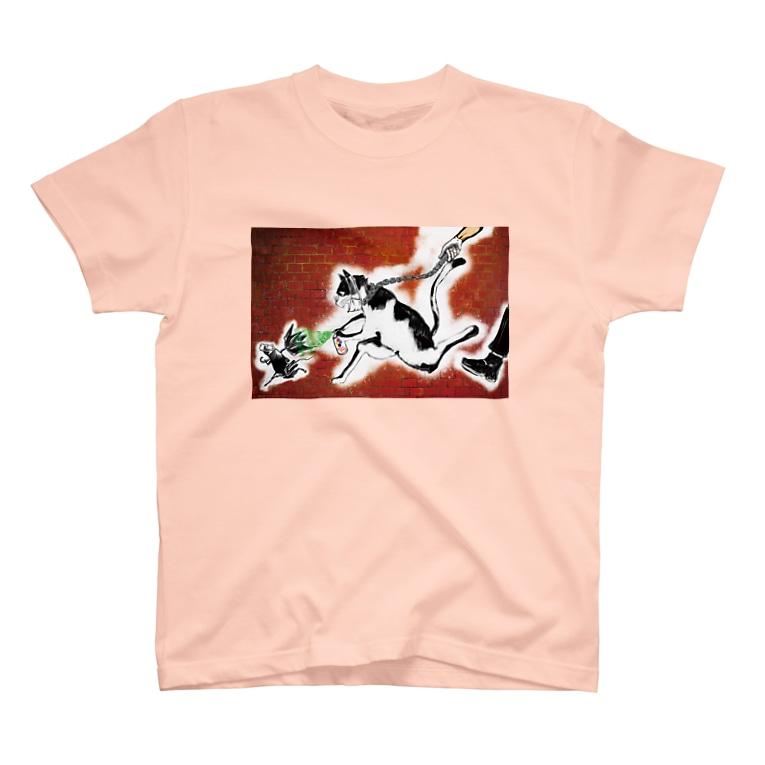 AMKWorksのstreet カラー T-shirts