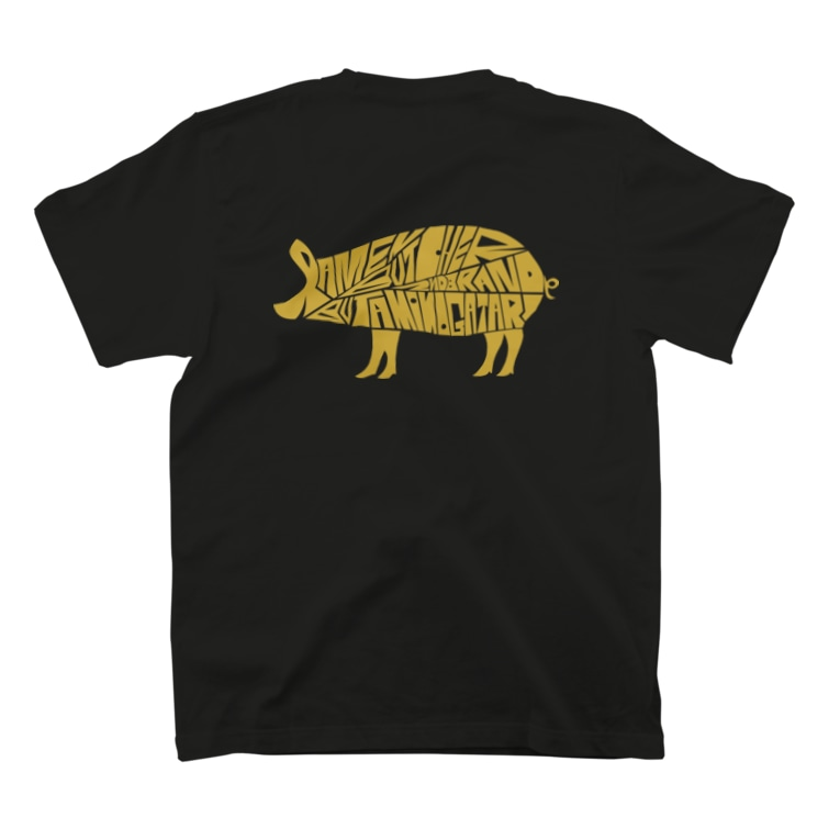 GRIZZLYの豚物語【gri002】 T-shirts