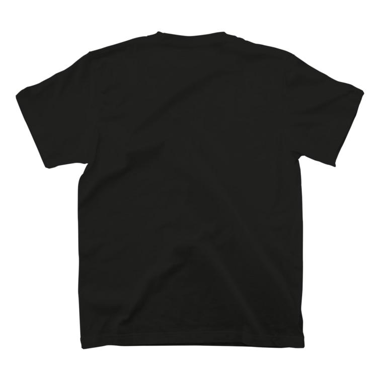 HIRO&MIYABIの黒ひろみや、Tシャツ T-shirtsの裏面