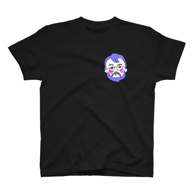 ちんぷんかんプリンのひげ T-shirts