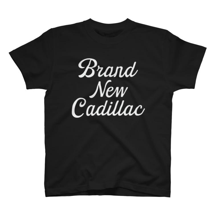 Shineのbrand new cadillac T-shirts