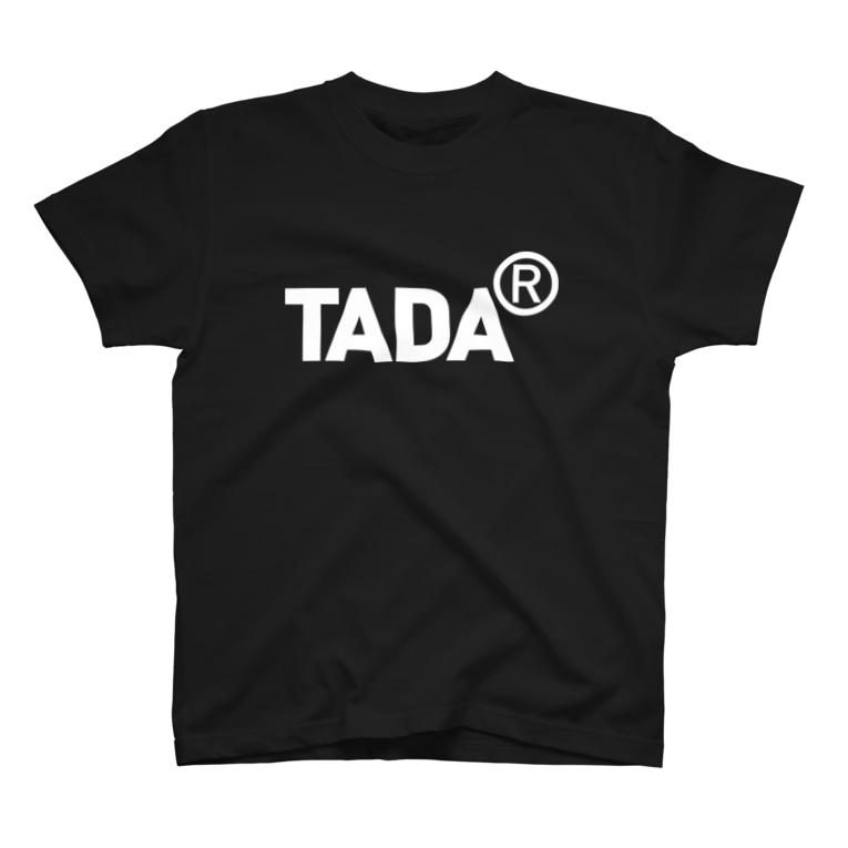 metao dzn【メタをデザイン】のただ在る(まるあーる)白 T-shirts