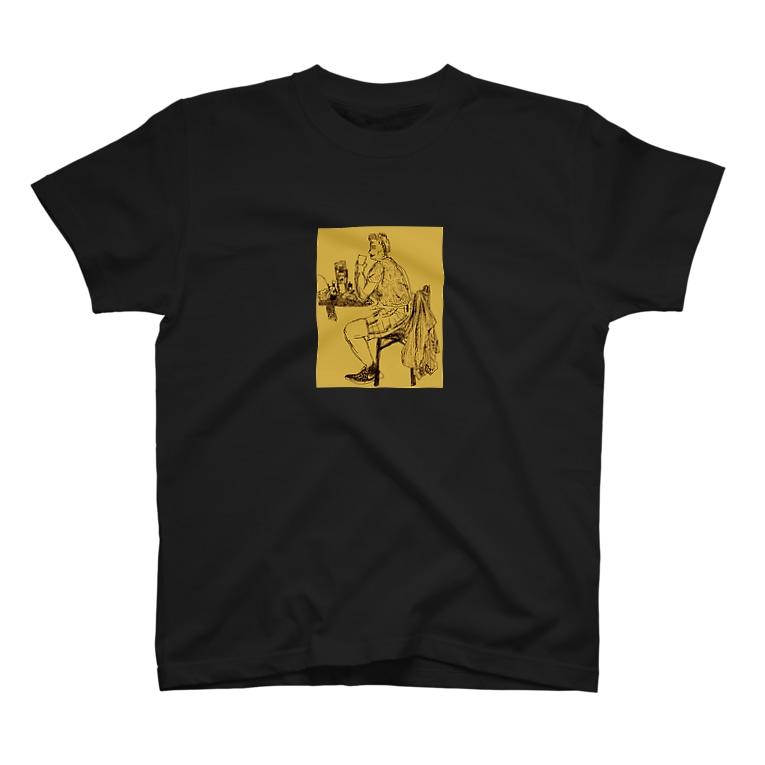 楽どじん@のbeer time T-shirts