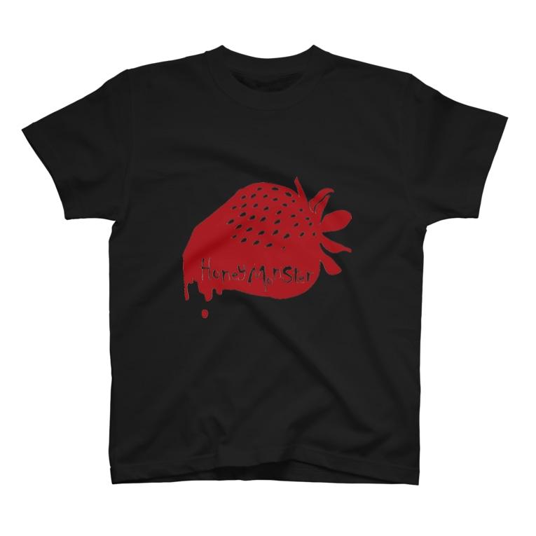 HoneyMonsterのHoneyMonsterロゴ T-shirts