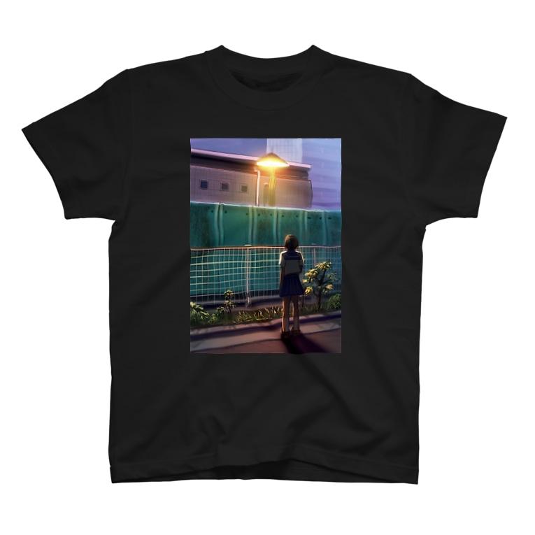 たかしろゆの少女 T-shirts