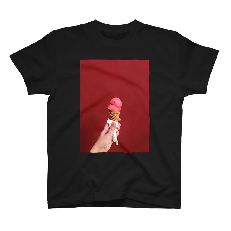 public domainのストロベリージェラート T-shirts