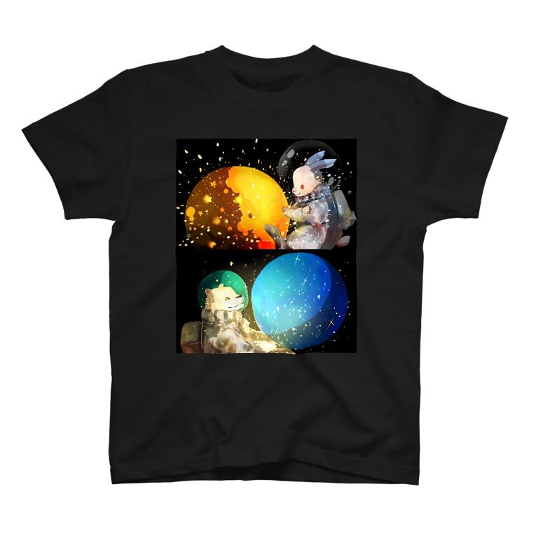 アイネっこのお店の宇宙 T-Shirt