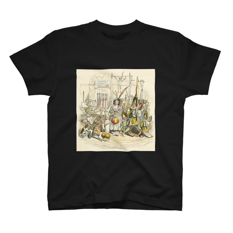 GuignolのJ・J・グランヴィル「もう一つの世界」 T-shirts