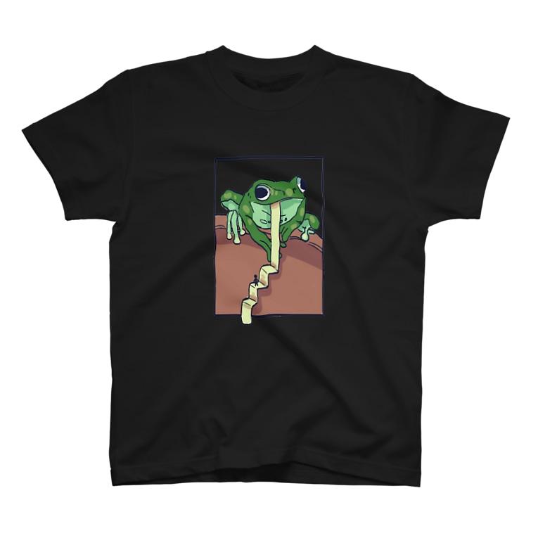 iro.のカエル T-shirts