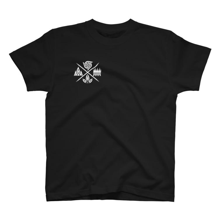 AnotherCreativeAreaの風林火山(白) T-shirts
