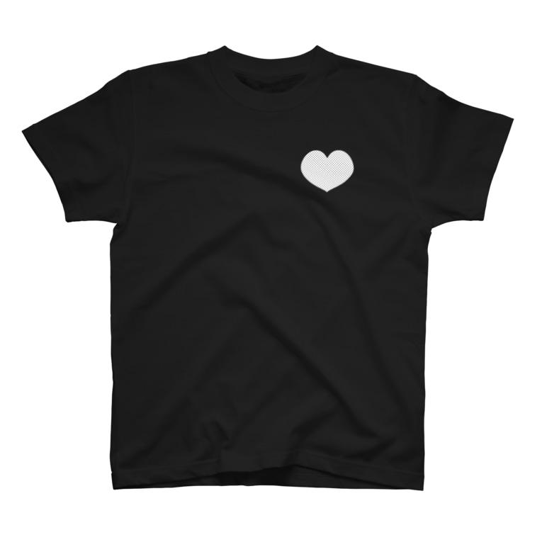 猫の見えざる手の心にぽっかり T-shirts