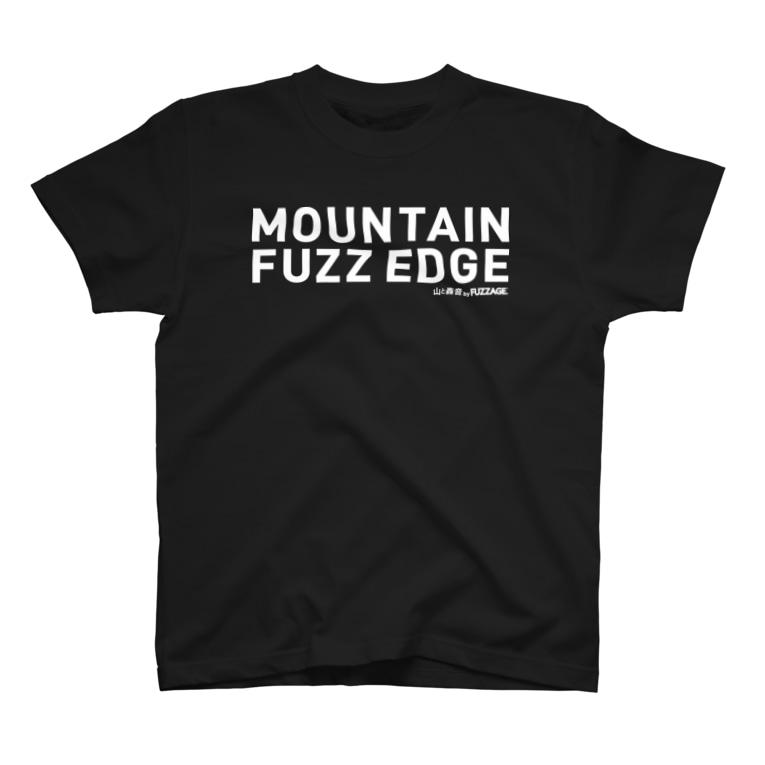 FUZZAGE™ (ファズエイジ)のMOUNTAIN FUZZ EDGE by FUZZAGE 2 T-shirts