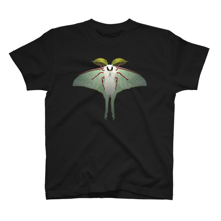 913WORKS WEB SHOP SUZURIのオナガミズアオの両面Tシャツ T-shirts