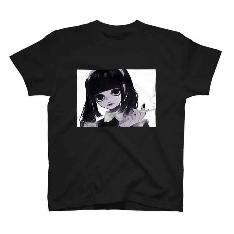 nahunahuのメイドさん(1) T-shirts