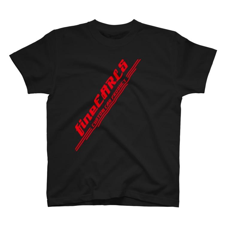 fineEARLS/ファインアールのfineEARLS_r_55 T-shirts