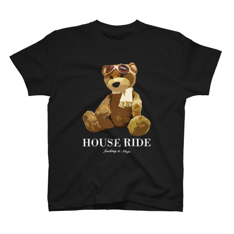 HOUSE DANCE MANIAのLittle House Rider - Type:B T-shirts