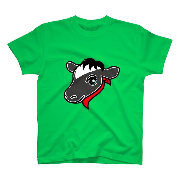 keikororinのウシ子 T-shirts