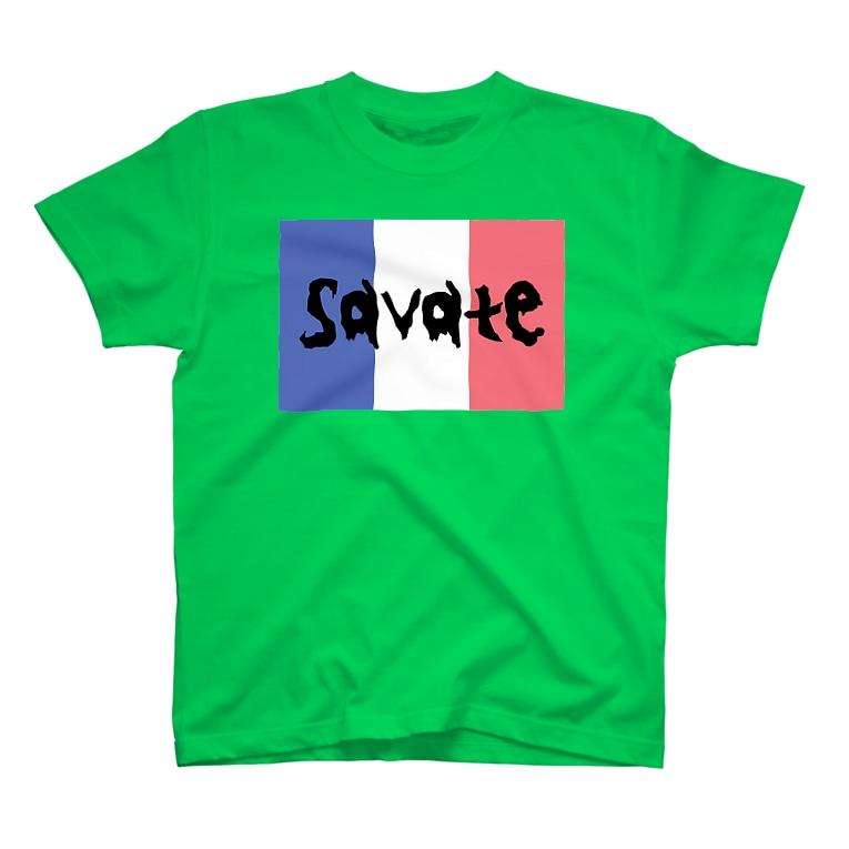 上着堂のサバットTシャツ T-shirts