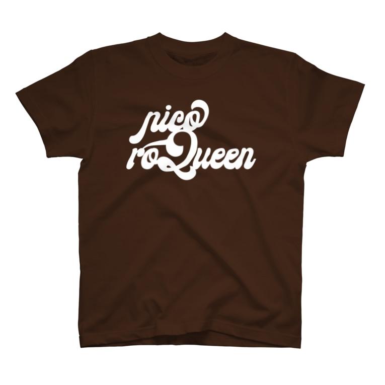 NicoRock 2569のnicoroQueen T-shirts