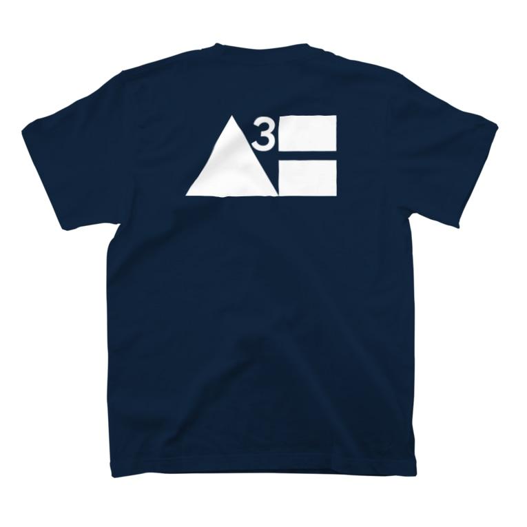 Waterhuman Inc.の【2021年夏モデル】公式Tシャツ(紺) T-Shirtの裏面
