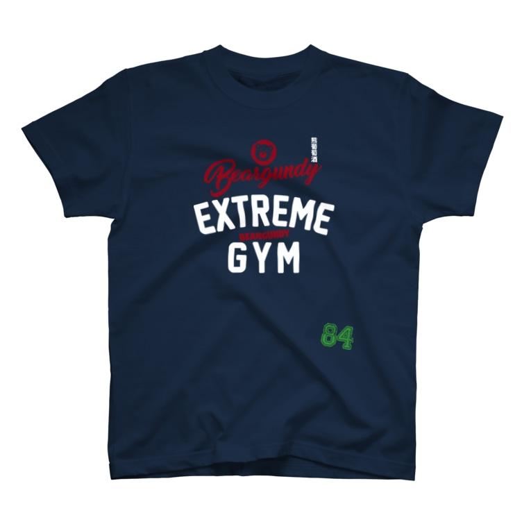 BEARGUNDYの熊訓練場 T-shirts