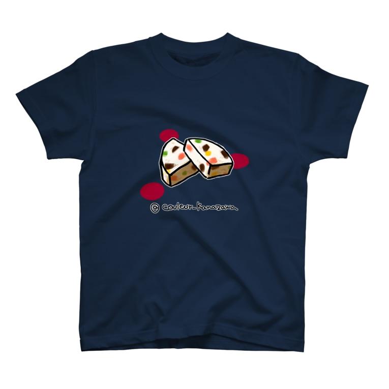 Couleur(クルール)のヌガーグラッセ  T-shirts