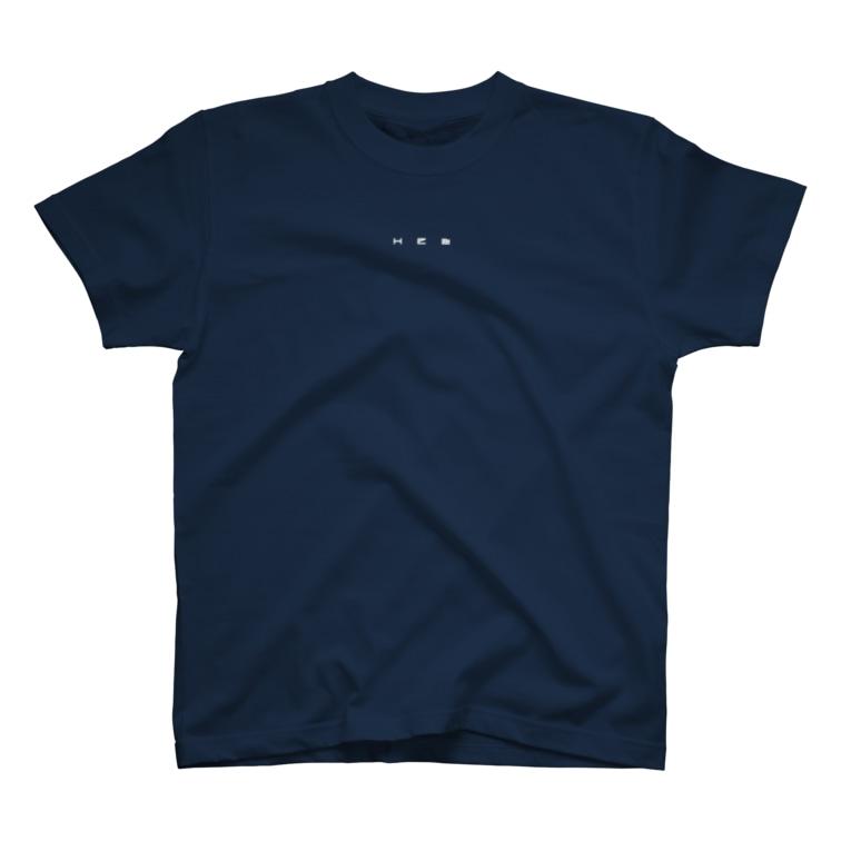HElll - ヘル - の〈 魔王×偵察 〉ロゴ&バックプリントTシャツ T-shirts