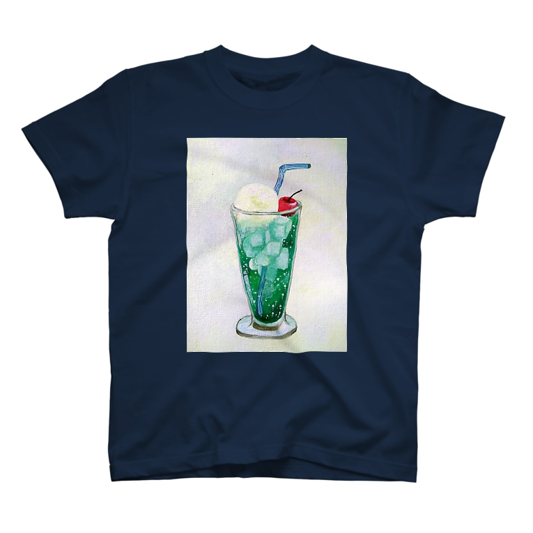 youmoreのメロンクリームソーダ T-shirts