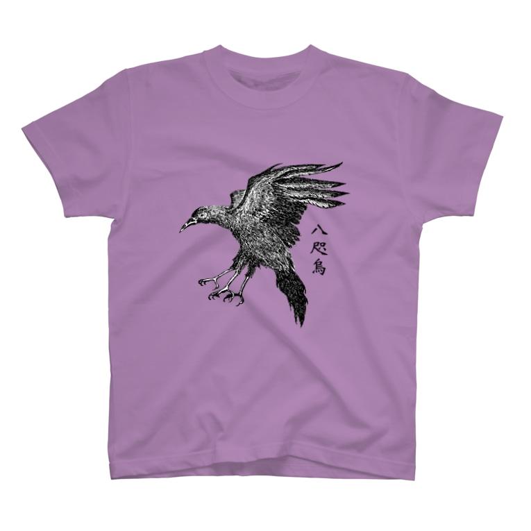 nemunoki paper itemのヤタガラス T-shirts
