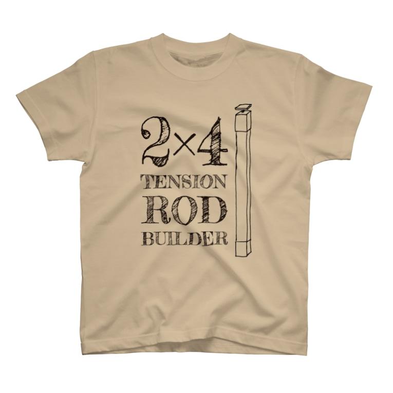 silent GARAGEの2×4ビルダーズ 薄用 T-shirts