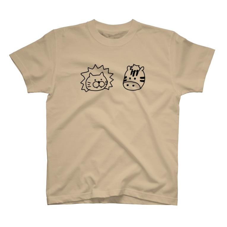 KOH-の肉食草食(背面あり) T-shirts